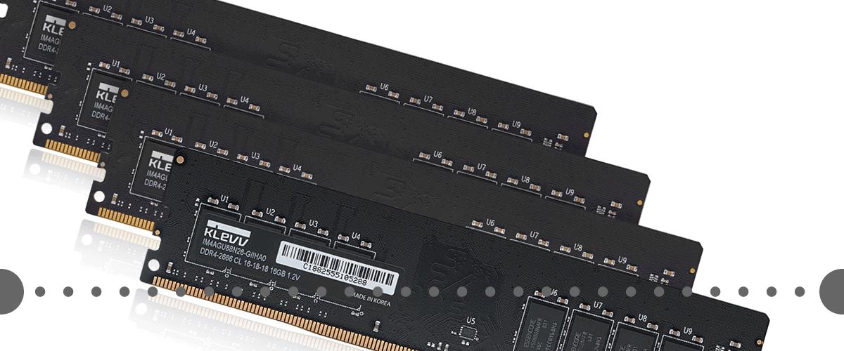 冬の特選KLEVV DDR4メモリー5%OFFクーポン